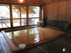 24-hour hot spring bath