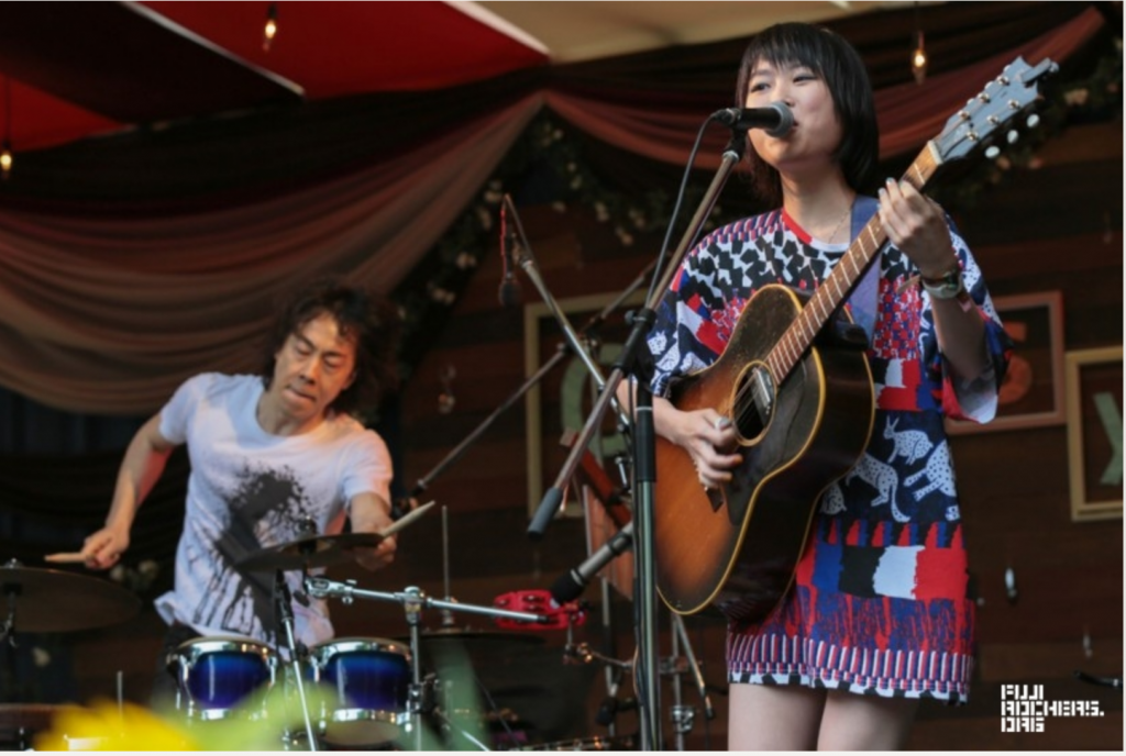 Rei is one of the acts to catch on a smaller stage at Fuji Rock