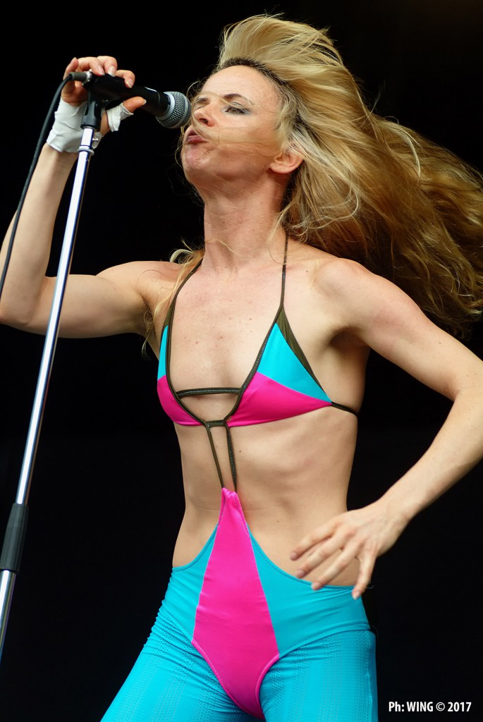 Juliette Lewis performing live at Fuji Rock Festival, Japan 2005