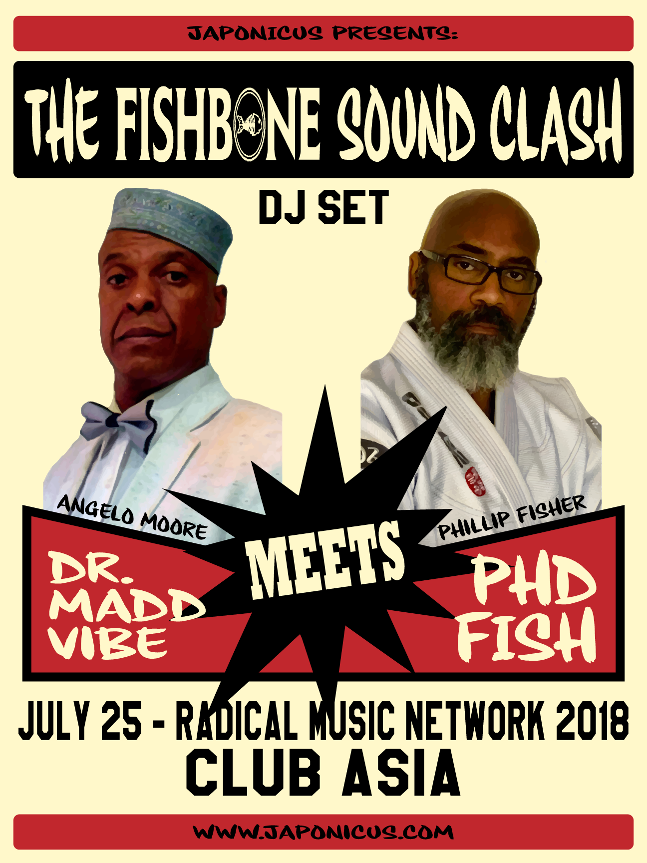The story behind Fishbone Soundclash, Basque Rockers and Mestizo Music Mania!