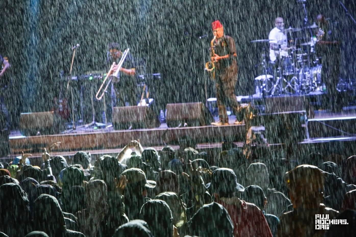 It Always Rains At Fuji Rock