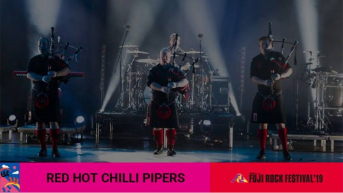 Red Hot Chili Pipers Bring the Bagrock