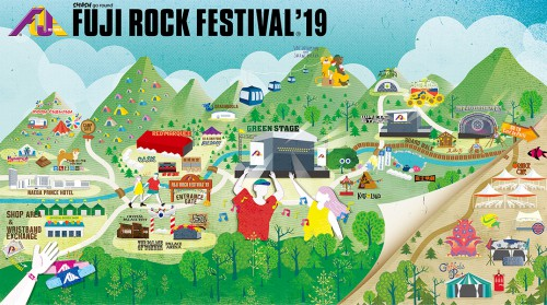 Know Your Fuji Rock Stages!